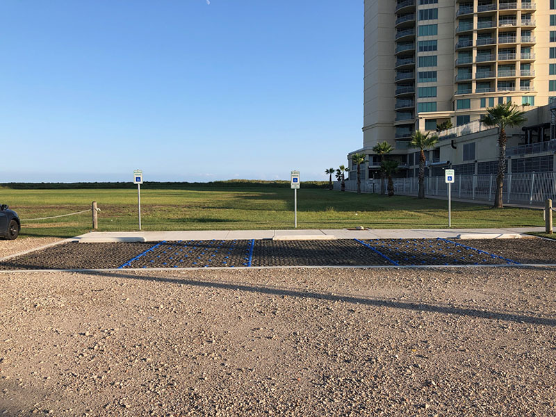Beach Access Point 1B at Palisade Palms ADA Parking