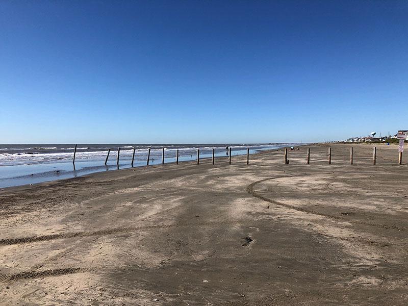 Beach Access Point 34 at Miramar - West View