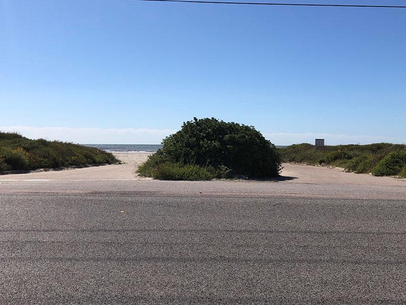Beach Access Point 36 at Salt Cedar Drive Entrance