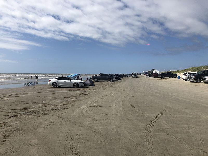 Beach Access Point 7 - Parking on Beach