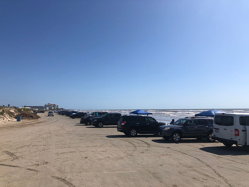 Beach Pocket Part 1 - Parking on the Beach