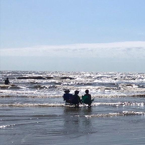 Beach Pocket Part 1 - People in Surf
