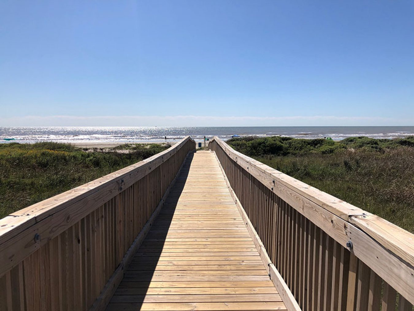 Point West Boardwalk to Beach
