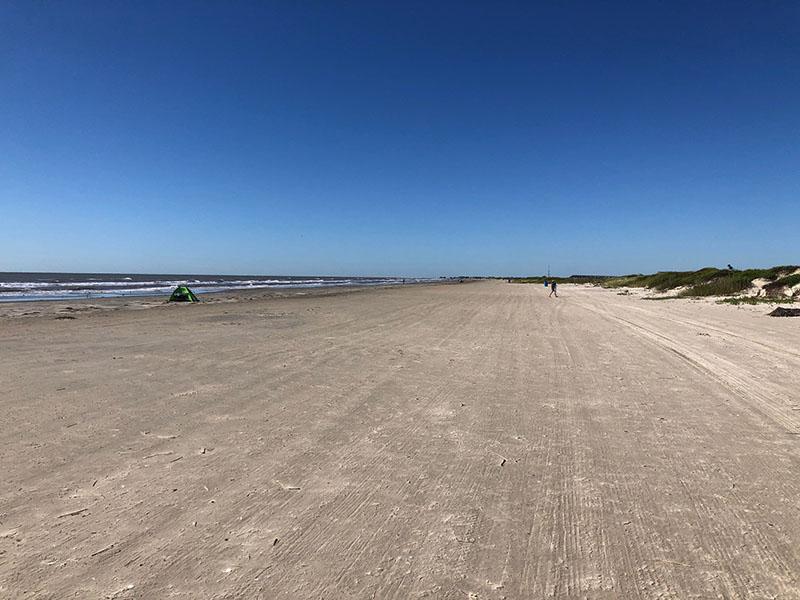 Point West Boardwalk to Beach - West View