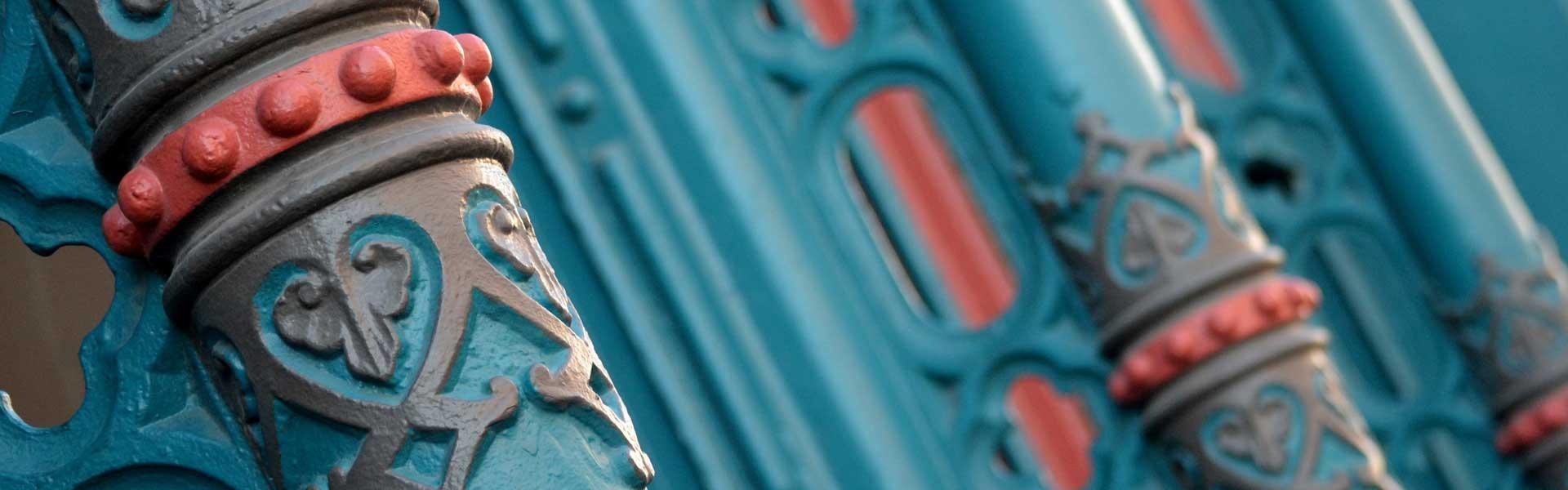 Iron Facade on Strand Building, Galveston, TX