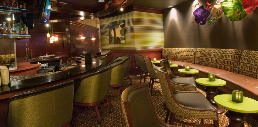 The Bar at The San Luis Hotel, Galveston, TX