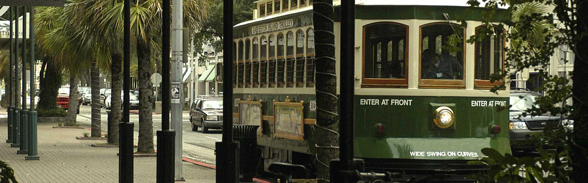 Galveston Island Trolley