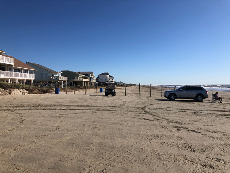 Beach Access Point 29 at Isla Del Sol - East View