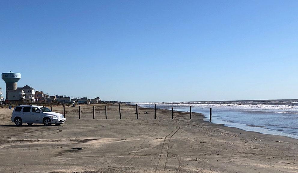 Beach Access Point 31 at Terramar Beach