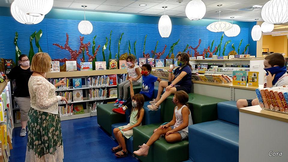 Galveston Children's Museum Educational Coaches Teaching Kids