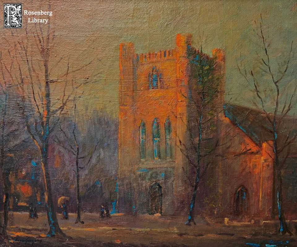 Painting of Trinity Episcopal Church