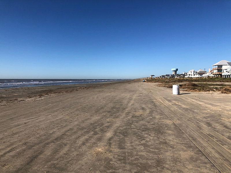 Sea Isle Beach Park - West View