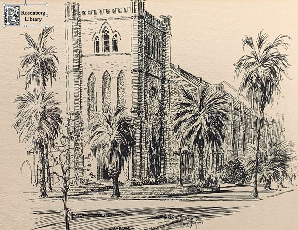 Sketch of Trinity Episcopal Church