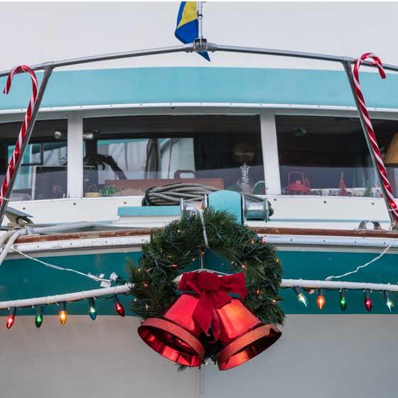 Christmas Boat Lane Parade