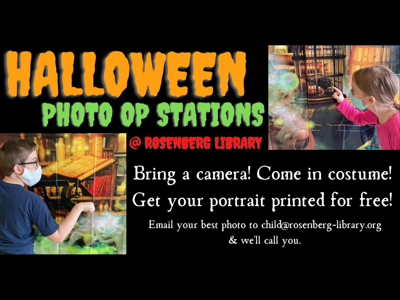 Galveston Halloween 2020 GALVESTON.COM: Rosenberg Library Halloween Photo Op