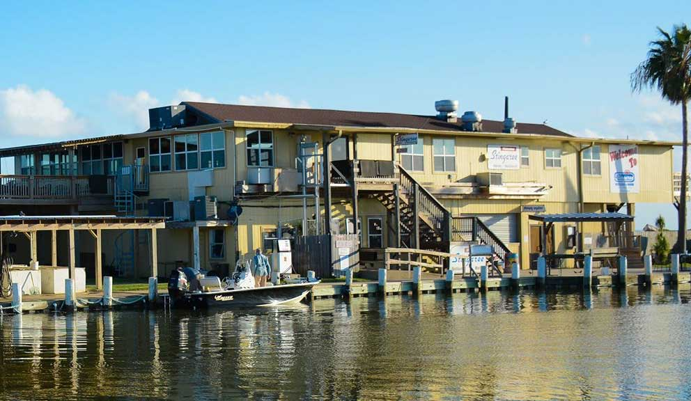 Stingaree Restaurant & Marina, Crystal Beach, TX