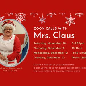 Zoom with Mrs. Claus