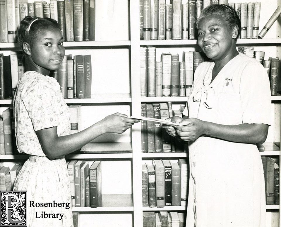 Lillian Davis and Roberta Woolright