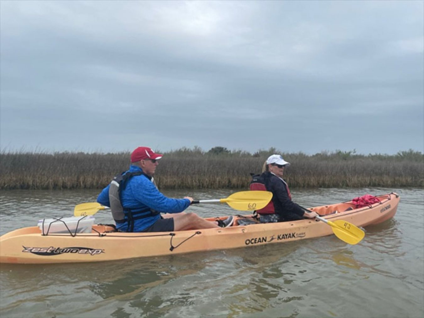 Kayaking the Coastal Heritage Preserve