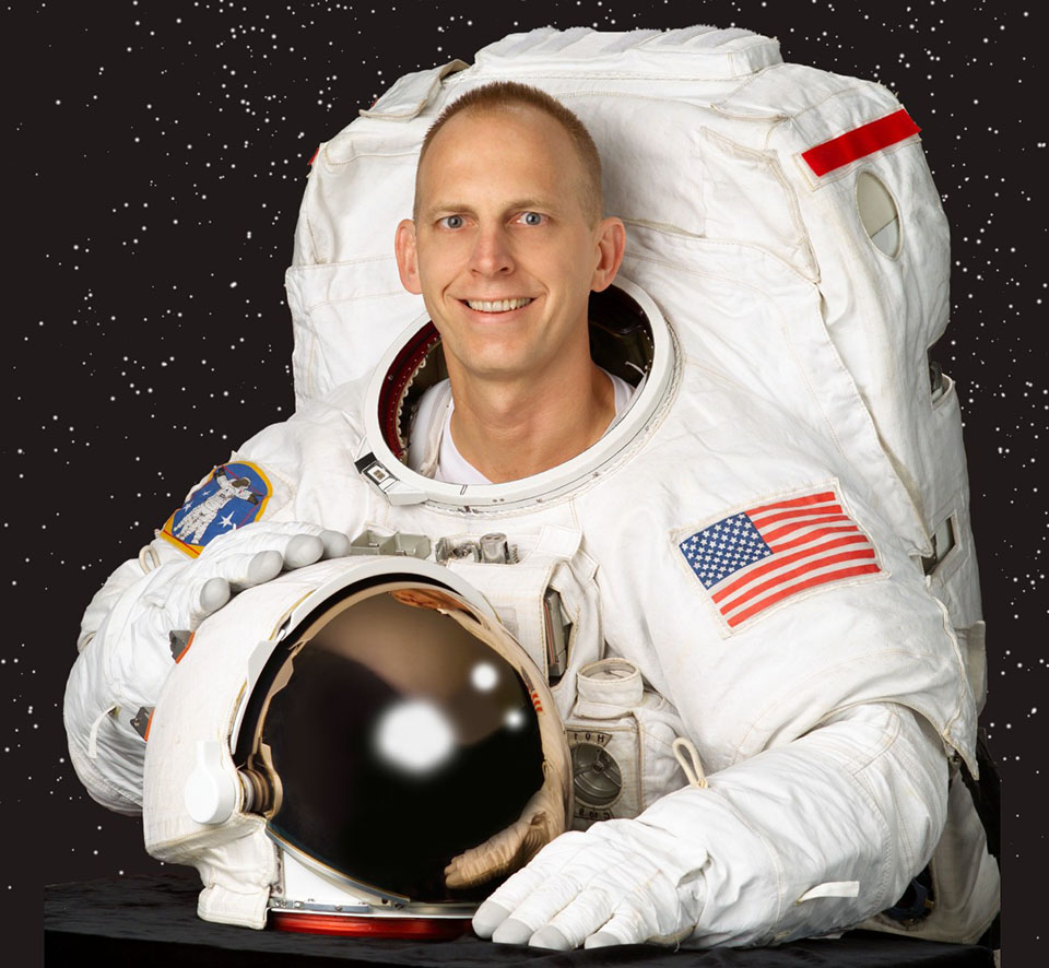 Retired Astronaut Clay Anderson