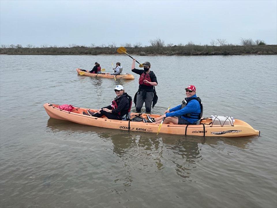 Kayaking the Coastal Heritage Preserve