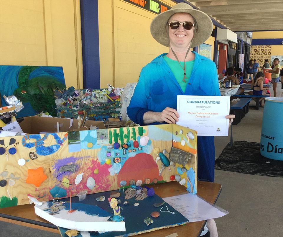 Winner of Art Contest