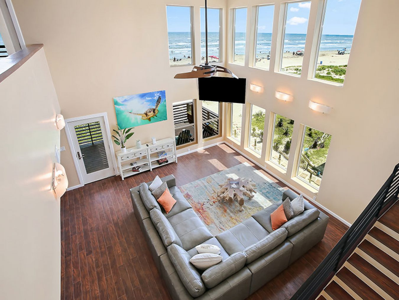 Soar Vacation Rentals Home on Beach