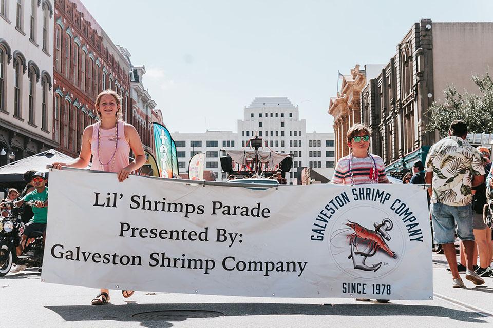 Enjoy the Lil' Shrimps Parade