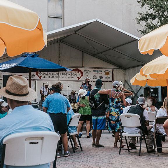 Live Music at Galveston Island Shrimp Festival
