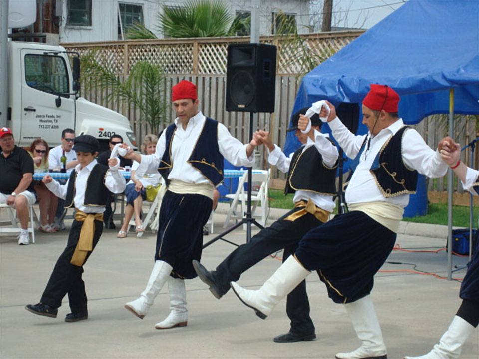 Dancers at Greek Festival